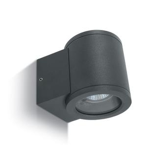 Vägglampa Antracitgrå  GU10 IP54 för Led