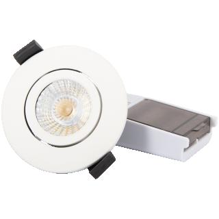 Downlight 8W CCT, dimbar, IP65