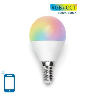E14 G45 5W WIFI RGB+CCT