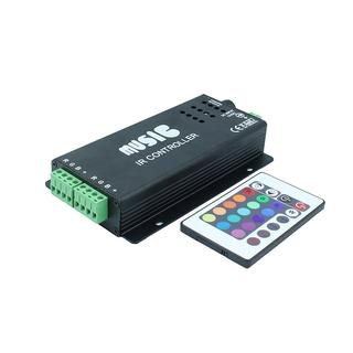 RGB kontroller med musik styrning, 144W