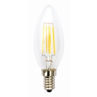 E14 4W LED Filament varmvit 2700K