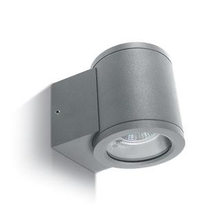 Vägglampa Grå GU10 IP54 för Led