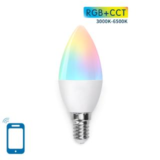 E14 C37 5W WIFI RGB+CCT
