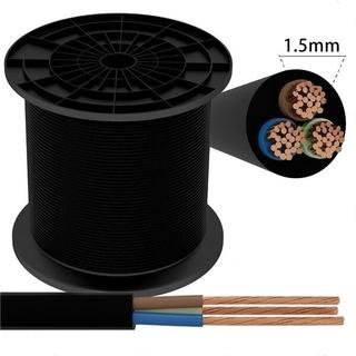 Kabel 3 x 1,5 mm² svart
