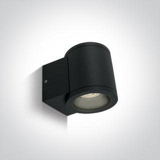 Vägglampa Svart GU10 IP54 för Led