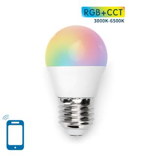 E27 G45 7W WIFI RGB+CCT