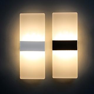 LED Vägglampa 4W