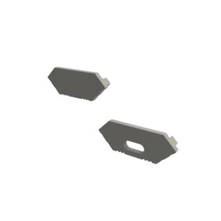Ändkåpa till Alumimium hörn ledprofil