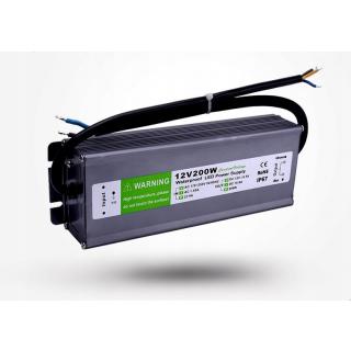 Transformator 12V 200W IP67