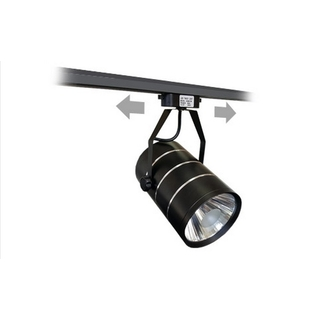 LED Spotlight 30W 6000K Svart Delux