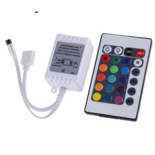 RGB Controller 6 A 24 knappars fjärr. 72W