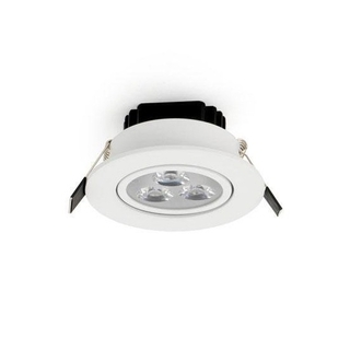 LED 3 W Downlight dimbar Varmvit