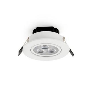 LED 3 W Downlight dimbar Varmvit