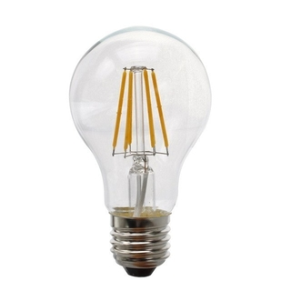 LED E27, 6 Watt Filament 4000K Neutralvit