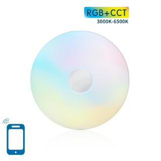 LED Plafond 18W WIFI RGB+CCT(3000K-6500K)