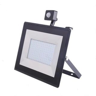 LED Strålkastare 100W PIR Sensor